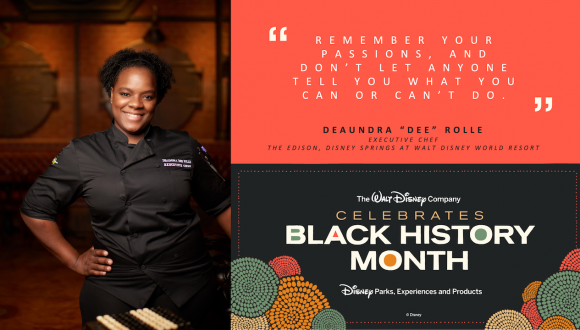 Executive Chef Deaundra 'Dee' Rolle from The Edison