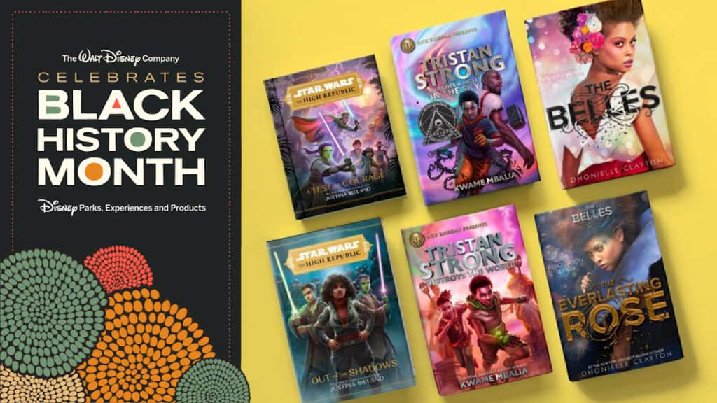 Celebrate Black stories by diving into books from Black authors at Disney Books