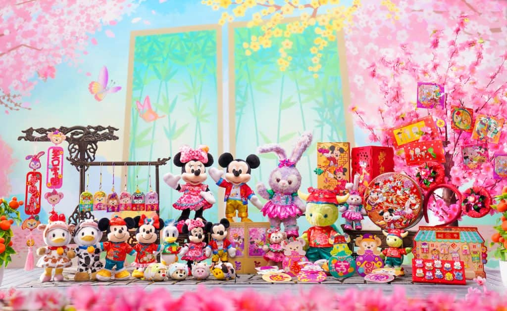 Lunar New Year-inspired gifts found at Hong Kong Disneyland REsort