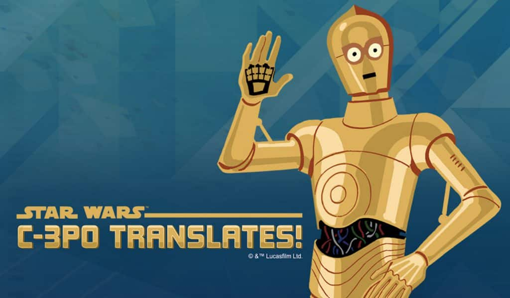 Amazon Kids+ newest skill, C-3PO Translates!