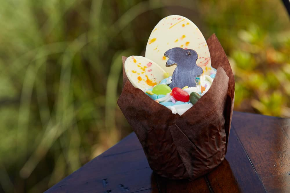 Key Lime Easter Cupcake available at Roaring Forks, Disney's Wilderness Lodge