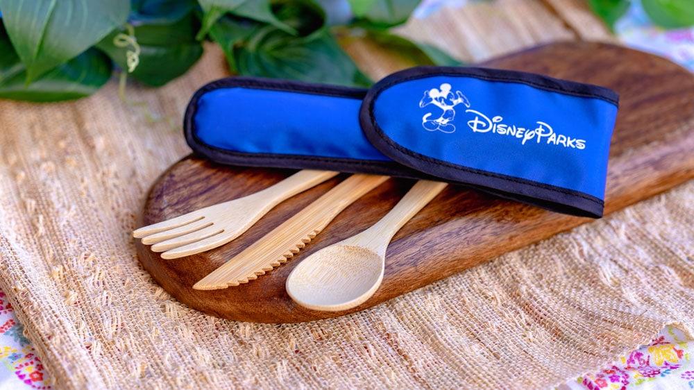Disney Parks reusable bamboo utensils