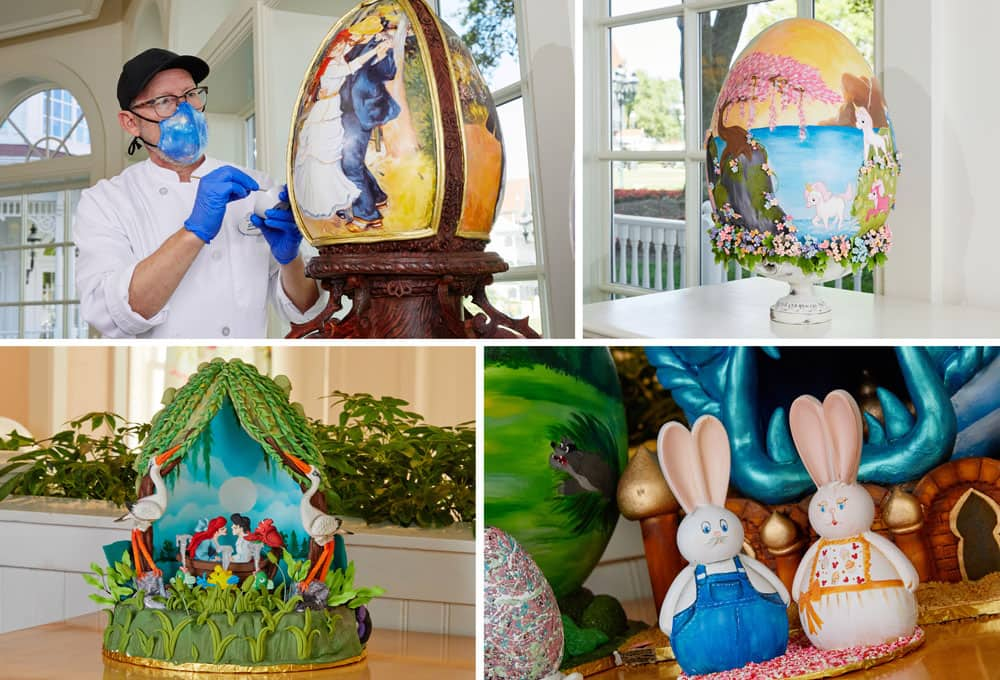 Resort Easter Egg Displays