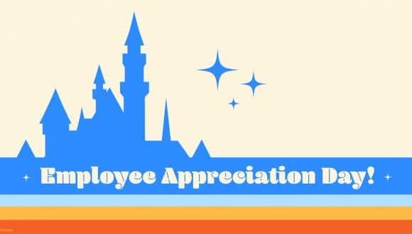 Employee Appreciation Day graphic for Disney cast members