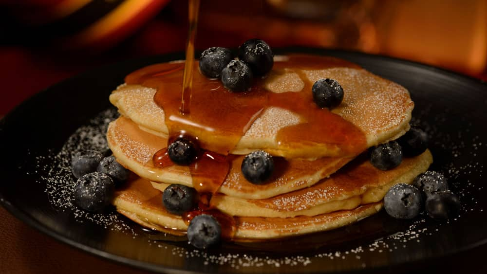 All-you-care-to-enjoy pancakes at Hollywood & Vine