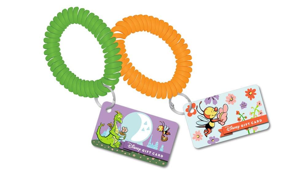 Disney Gift Card wrist bands