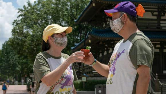 Two Guests at the EPCOT International Food & Wine Festival