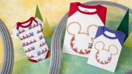 Mickey & Minnie's Runaway Railway Onesie and Tee