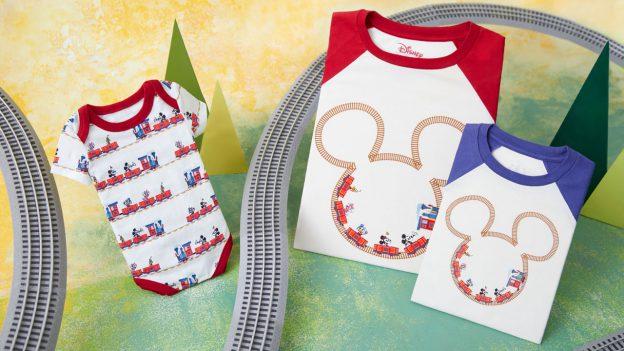 Mickey & Minnie's Runaway Railway Onesie and Tee
