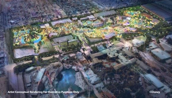 Artist Conceptual Rendering for Illustrative Purposes Only - DisneylandForward