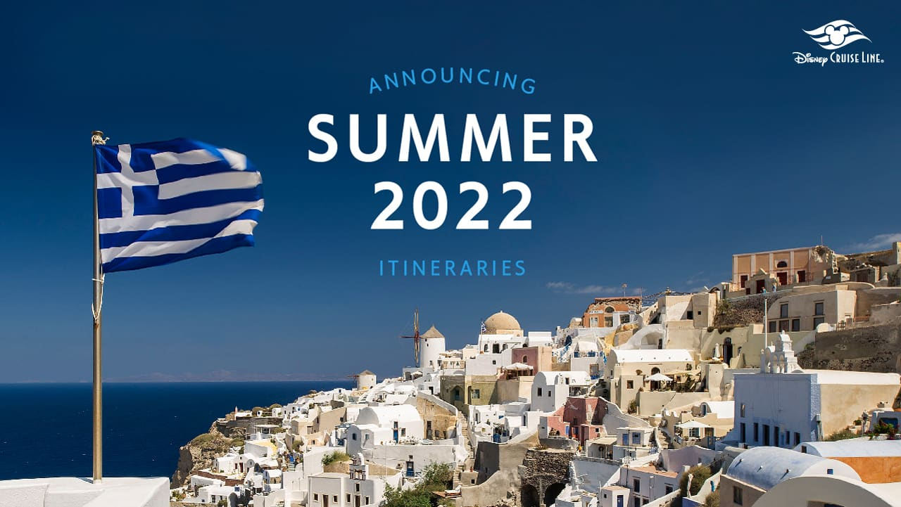 Announcing Summer 2022 Itineraries | Disney Cruise Line