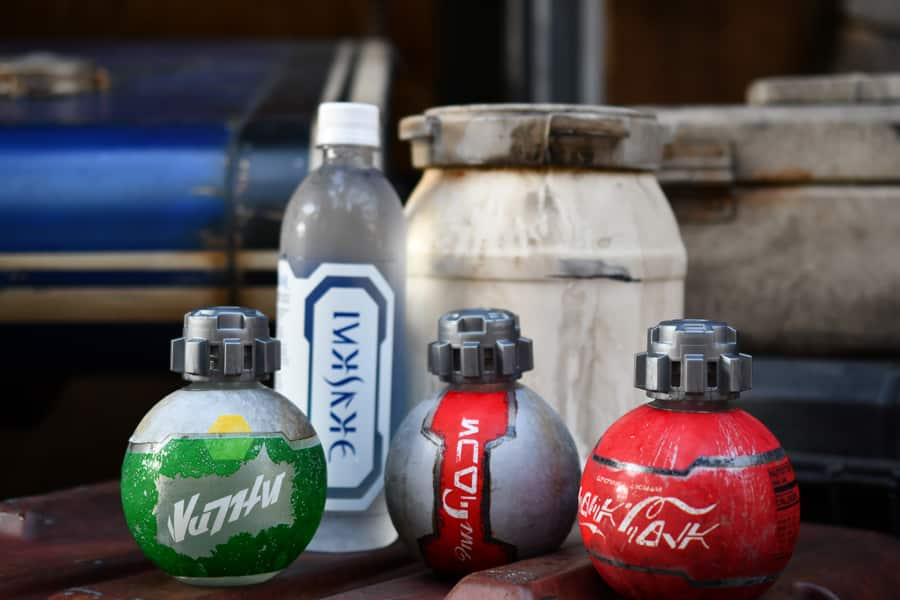 Coca-Cola products in Star Wars: Galaxy's Edge