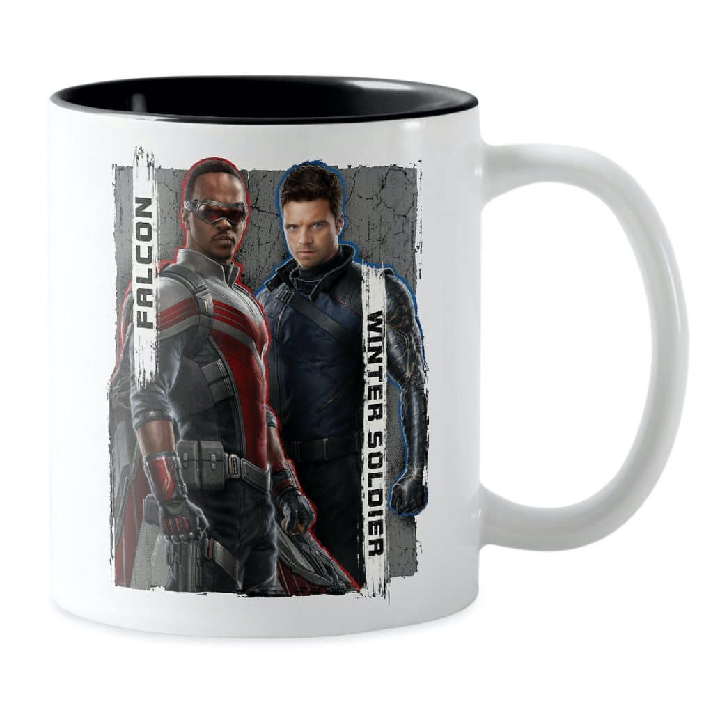 """Coffee mug inspired by """"The Falcon and The Winter Soldier"""""""