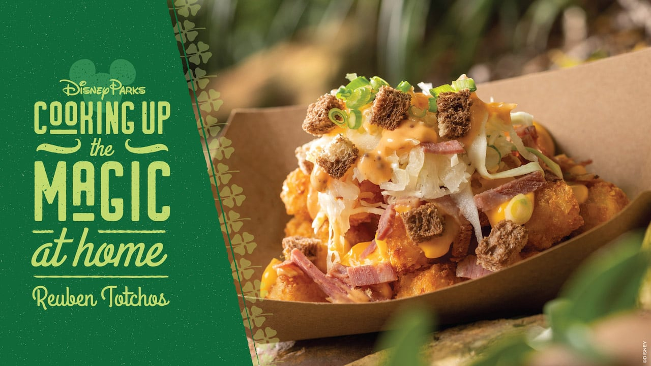 #DisneyMagicMoments: Cooking Up the Magic – St. Patrick's Day Spin on Totchos Recipe
