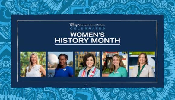 Collage of Women Behind the Magic at Walt Disney World Theme Parks