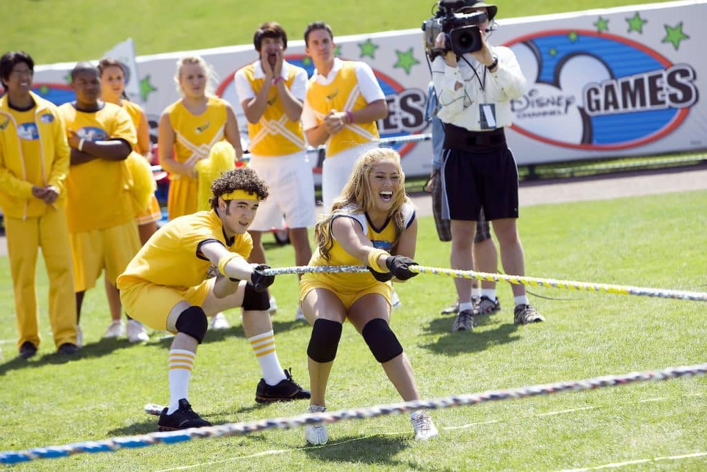 The Yellow Team Comet from the 2008 Disney Channel Games at the ESPN Wide World of Sports