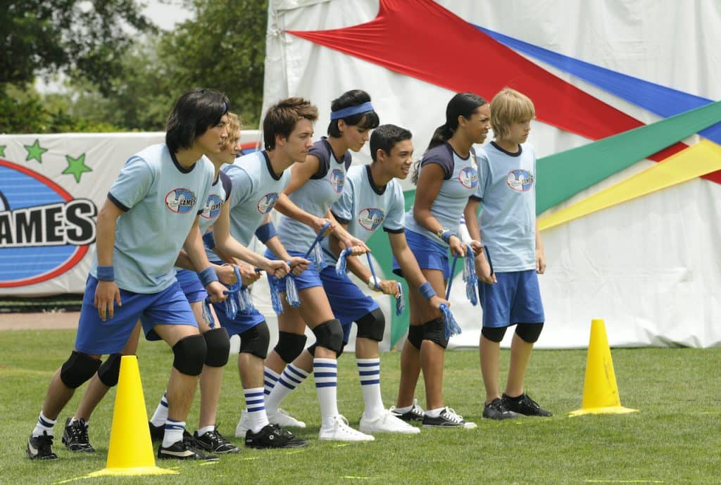 The Blue Team Lightning from the 2008 Disney Channel Games at the ESPN Wide World of Sports