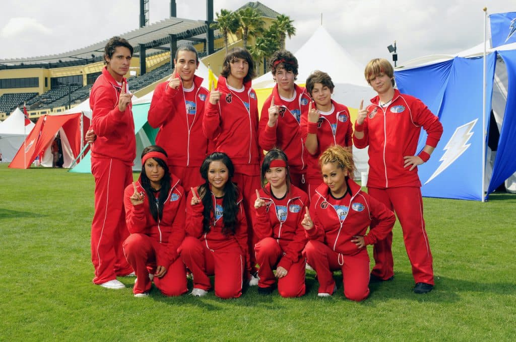 The Red Team Inferno from the 2008 Disney Channel Games at the ESPN Wide World of Sports