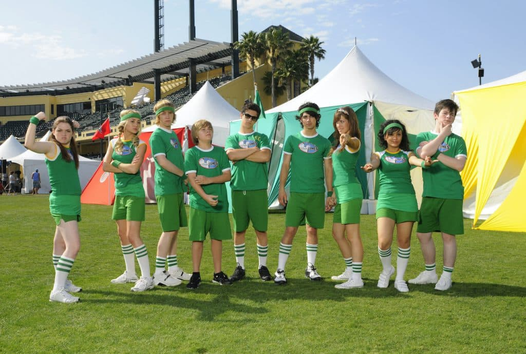 The Green Team Cyclones from the 2008 Disney Channel Games at the ESPN Wide World of Sports