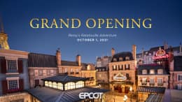 Remy's Ratatouille Adventure Grand Opening at EPCOT Set for Oct. 1, 2021