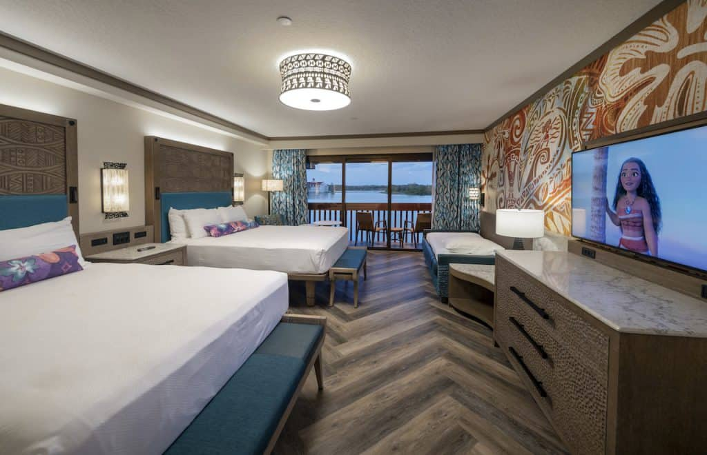 Reimagined Room at Disney's Polynesian Village Resort