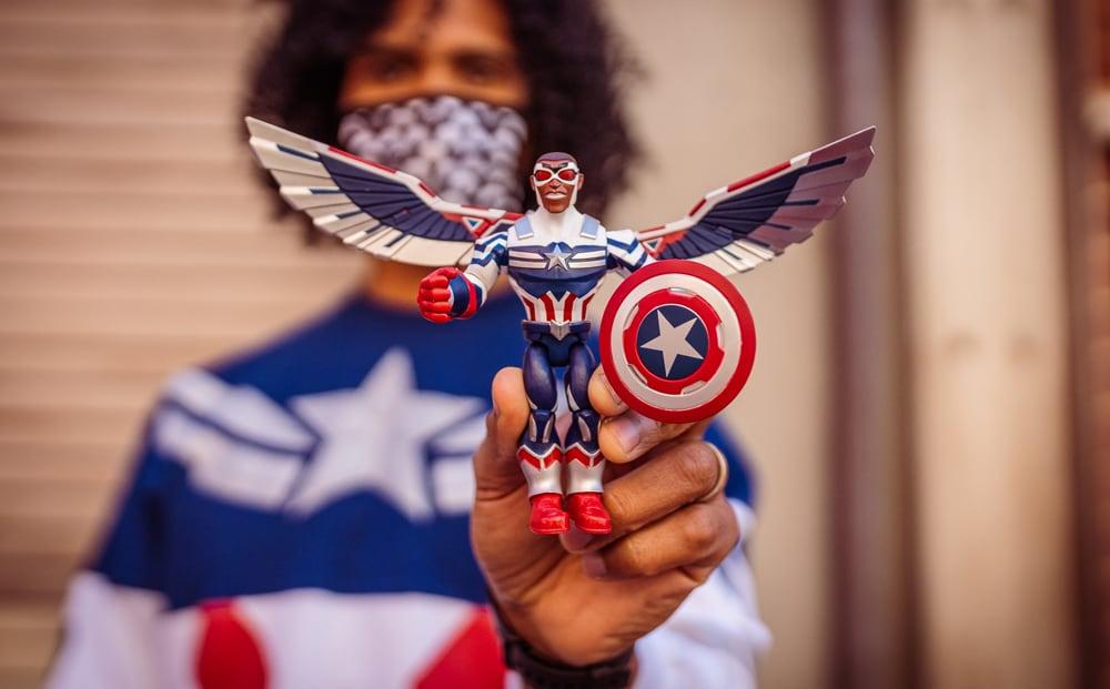 New Captain America Action Figure