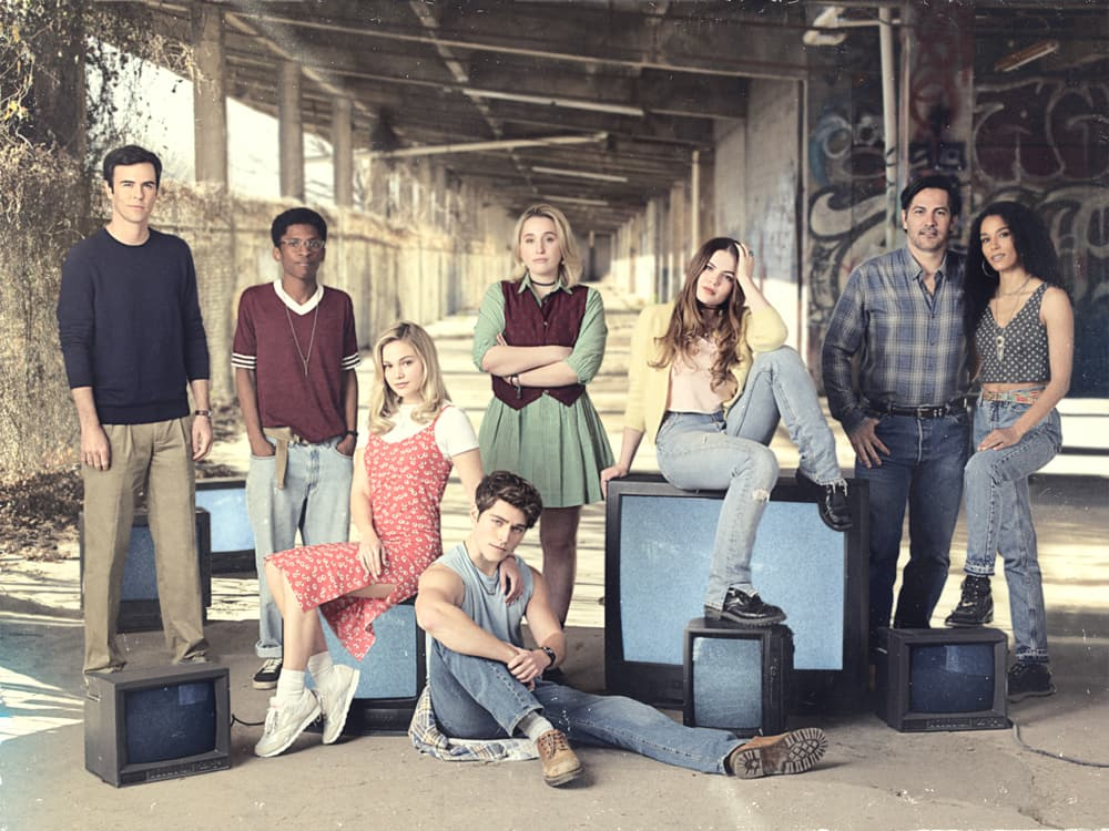 Olivia Holt and the cast of 'Cruel Summer'