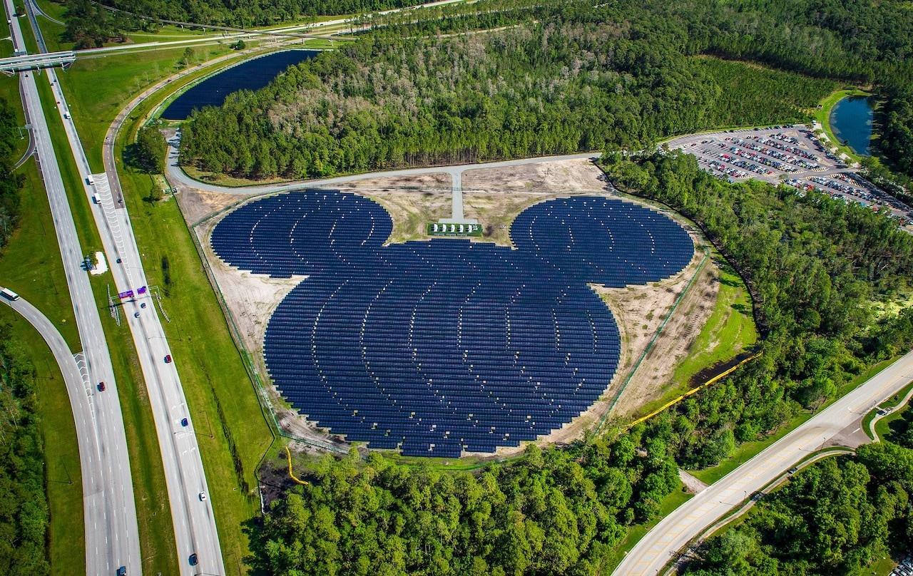Disney anuncia expansão em energia solar