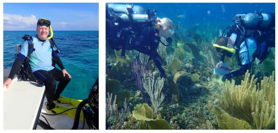 Dr. Andy Stamper, an expert in coral conservation worldwide