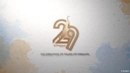 Logo for the 29th Anniversary of Disneyland Paris