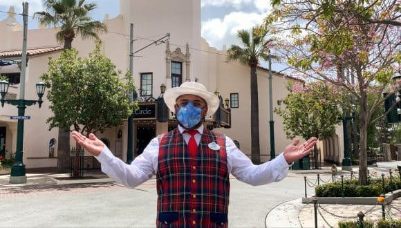 Cast Member at Disney California Adventure