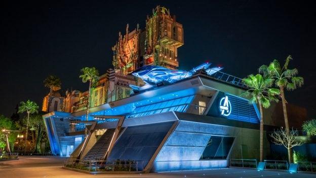 Avengers Campus in Disney California Adventure park