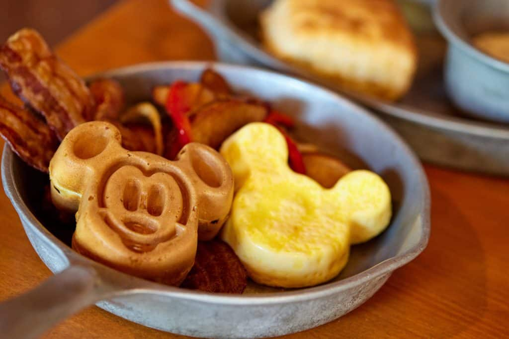 Kids' All-You-Care-To-Enjoy Breakfast Skillet from Whispering Canyon Café at Disney's Wilderness Lodge