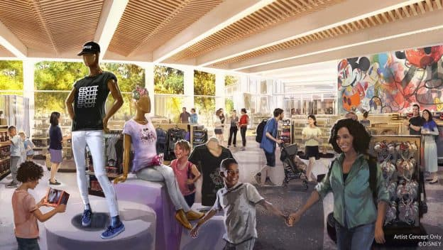 """Creations Shop"" será a loja principal do EPCOT + ""Club Cool"""