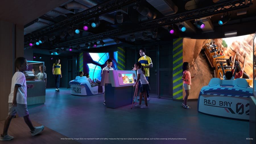 Disney Wish: Disney's Oceaneer Club - Walt Disney Imagineering Lab