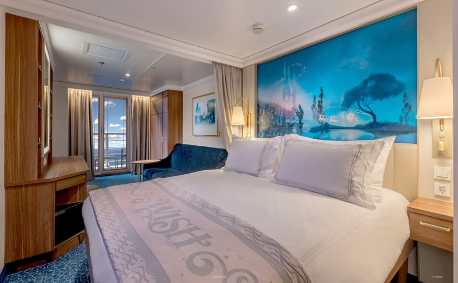 Disney Wish: Staterooms - Verandah