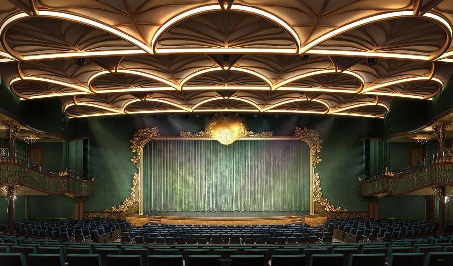 Disney Wish: Walt Disney Theatre