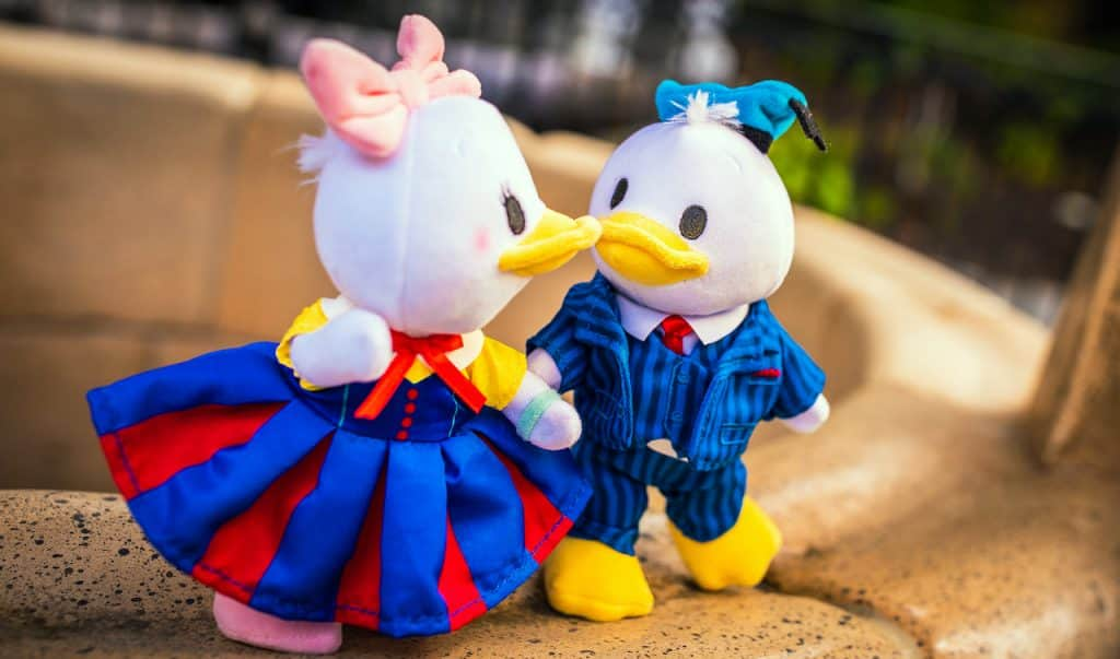 New Disney nuiMOs Vintage Day collection on Donald and Daisy Duck