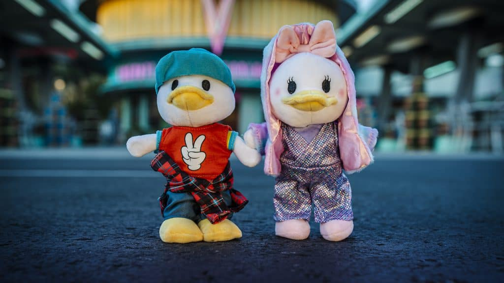 New Disney nuiMOs Electric Festival outfit collection on Donald and Daisy Duck