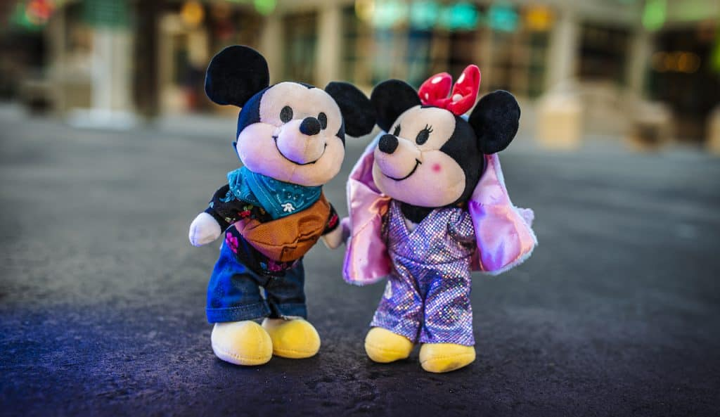 New Disney nuiMOs Electric Festival outfit collection on Mickey and Minnie Mouse