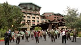 Disney's Grand Californian Hotel & Spa cast members