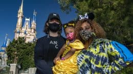 Serena Williams Visits Walt Disney World
