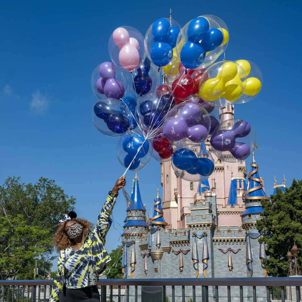 Serena Williams Visits Walt Disney World