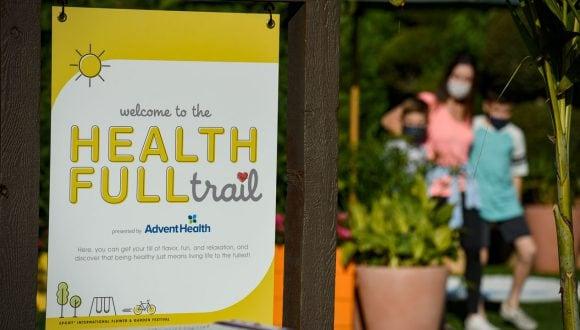 Health Full Trail presented by AdventHealth at Taste of EPCOT International Flower & Garden Festival