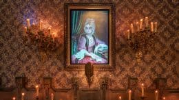 "Haunted Mansion at Disneyland Park - ""April to December"" portrait"