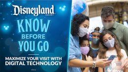 Family using technology at Disneyland Resort