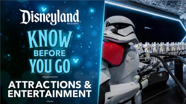Attractions and Entertainment Details for Disneyland Resort Theme Parks
