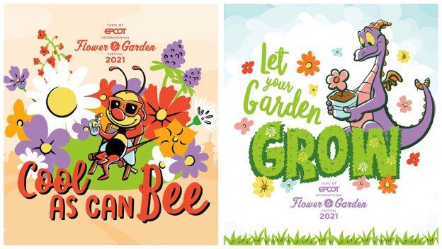 "Disney libera papel de parede do ""Flower & Garden"" 2021"