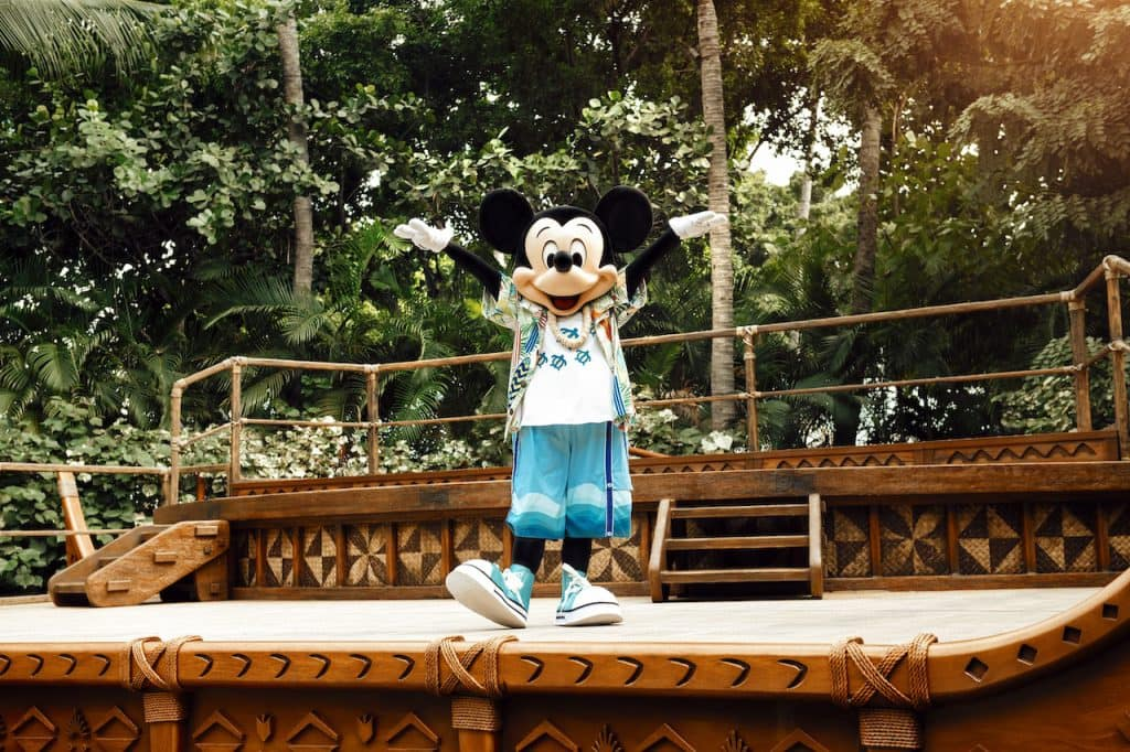 Mickey Mouse at Aulani, A Disney Resort & Spa