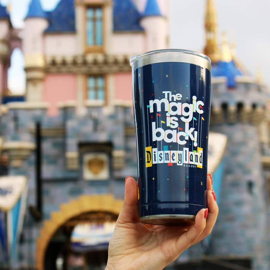 'The Magic Is Back' Merchandise Collection at Disneyland Resort - tumbler